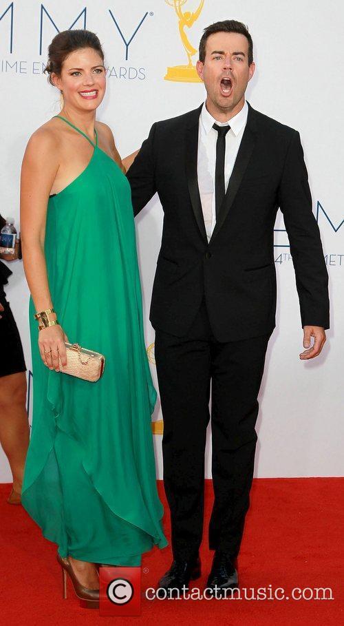 Siri Pinter, Carson Daly and Emmy Awards 2