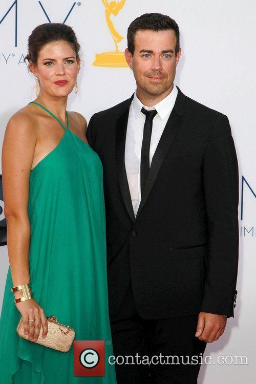 Siri Pinter, Carson Daly and Emmy Awards 3