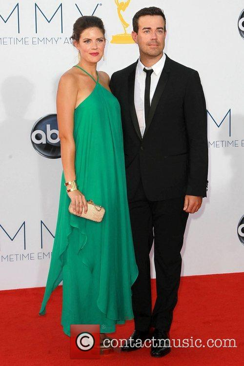Siri Pinter, Carson Daly and Emmy Awards 1