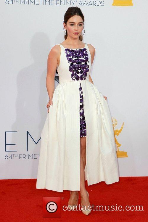 Emilia Clarke 64th Annual Primetime Emmy Awards, held...