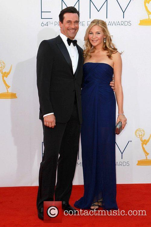 Jon Hamm and Jennifer Westfeldt 64th Annual Primetime...