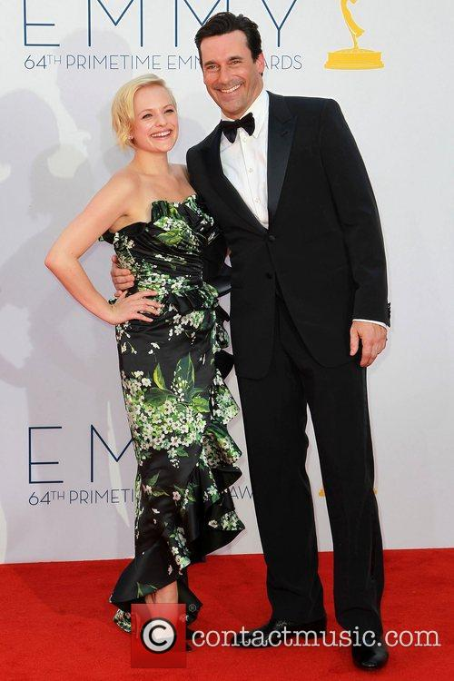 Elisabeth Moss and Jon Hamm 6