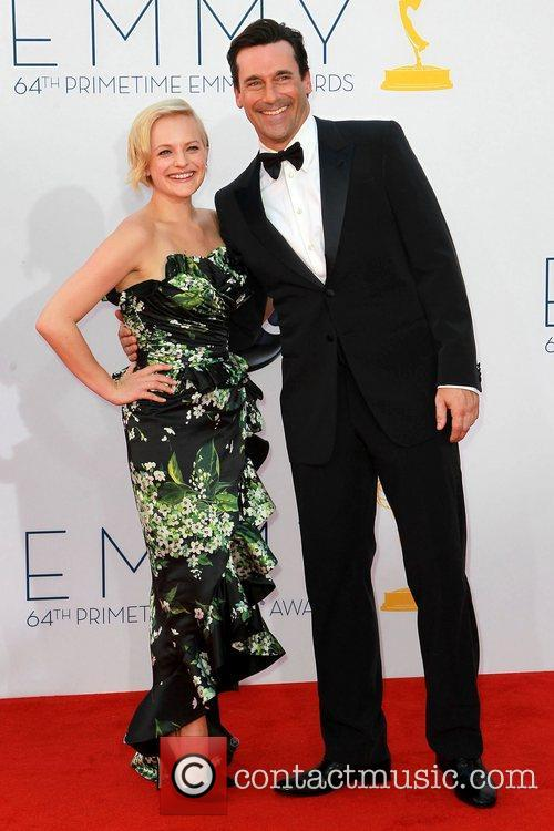 Elisabeth Moss and Jon Hamm 2