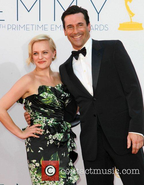 Elisabeth Moss and Jon Hamm 4
