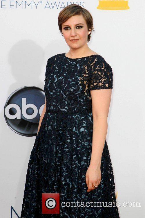 Lena Dunham and Emmy Awards 3
