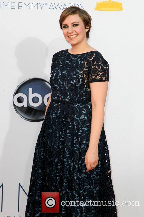 Lena Dunham and Emmy Awards 6