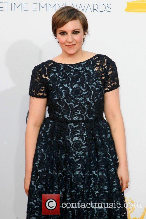 Lena Dunham and Emmy Awards 5