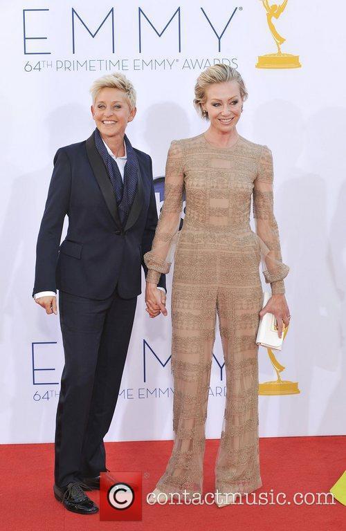 Ellen Degeneres, Portia and Rossi 5