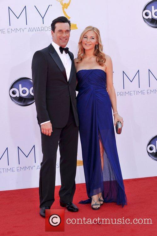 Jon Hamm, Jennifer Westfeldt  64th Annual Primetime...