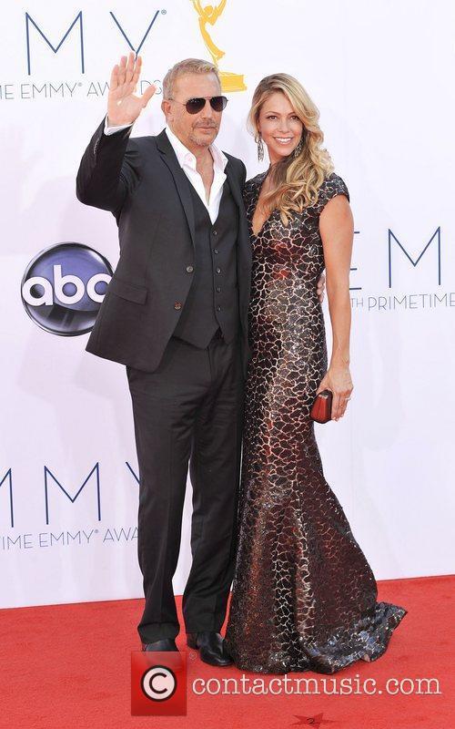 Kevin Costner, Christine Baumgartner, Emmy Awards