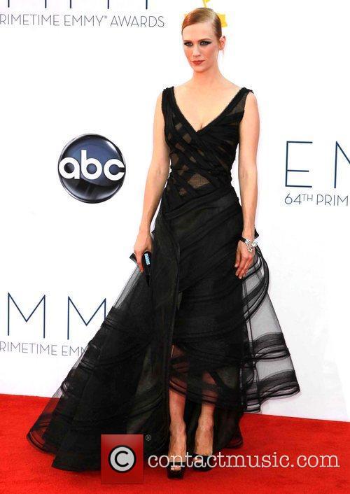 January Jones, Emmy Awards