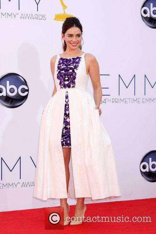 Emilia Clarke  64th Annual Primetime Emmy Awards,...