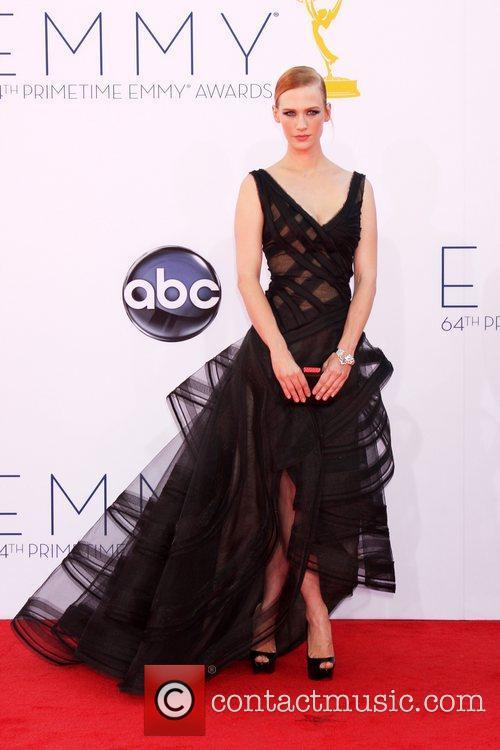 January Jones 64th Annual Primetime Emmy Awards, held...