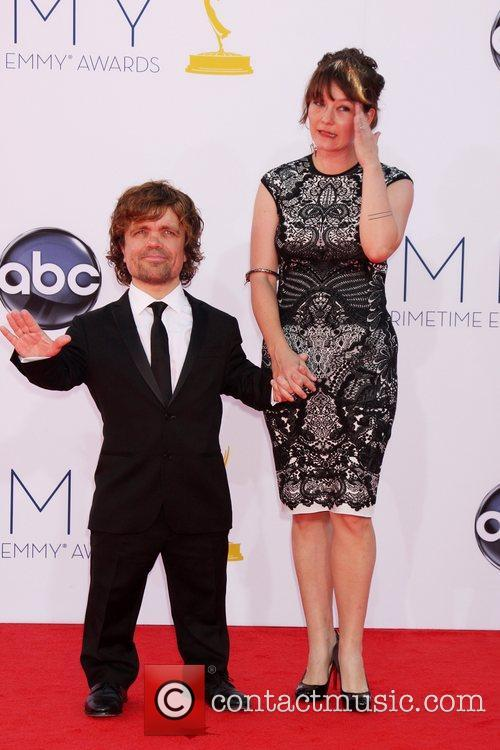 Peter Dinklage and Erica Schmidt 2