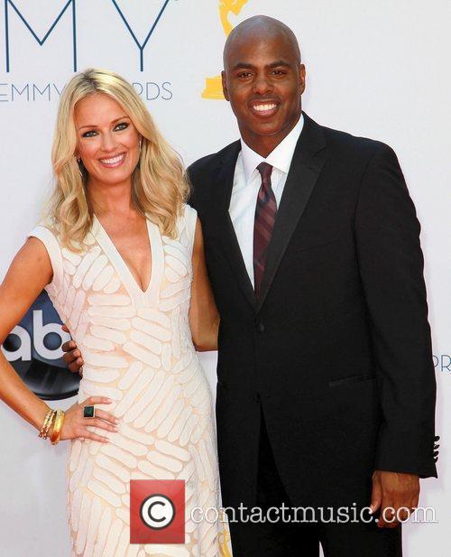 Brooke Anderson and Kevin Frazier 64th Annual Primetime...