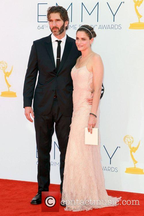 David Benioff and Amanda Peet 64th Annual Primetime...