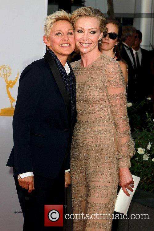 ellen degeneres and portia de rossi 64th 5918415