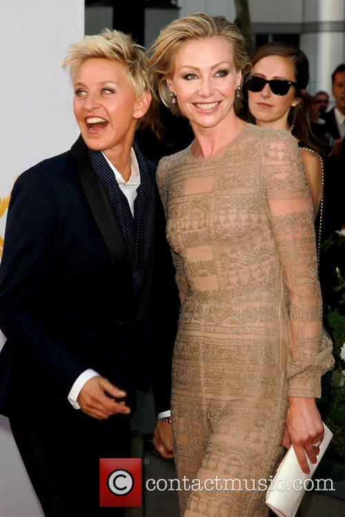 Ellen Degeneres, Portia and Rossi