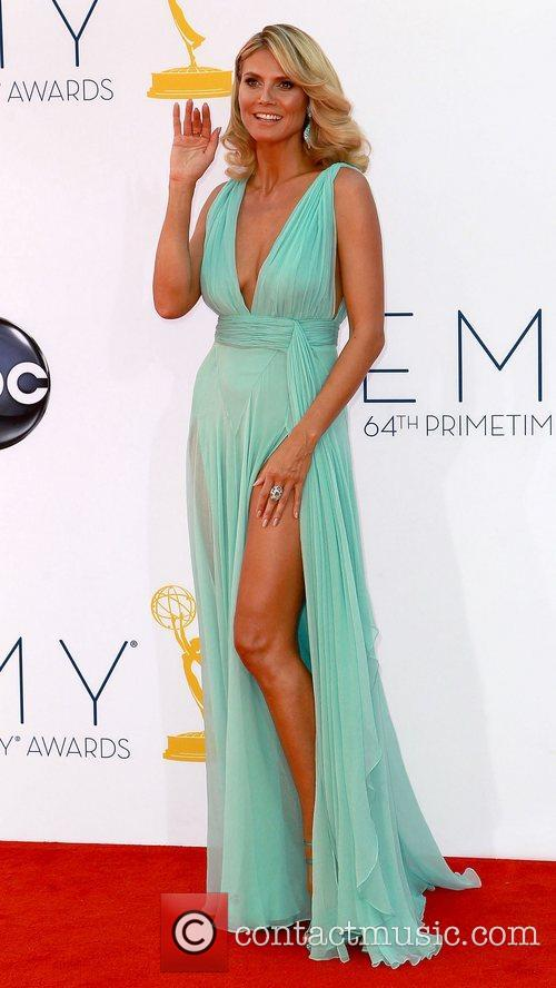 Heidi Klum and Emmy Awards 2