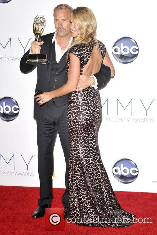 Kevin Costner, Christine Baumgartner and Emmy Awards 9