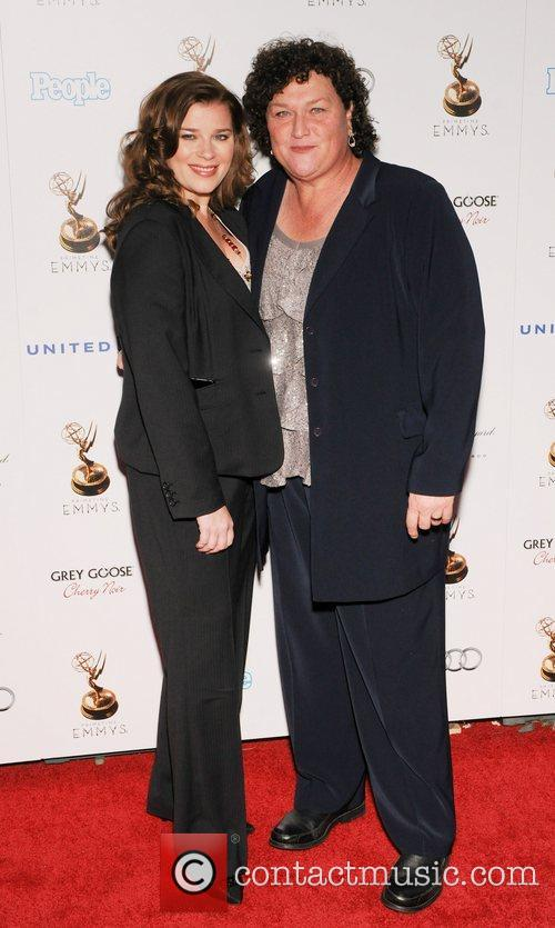 Dot Marie Jones and Guest 64th Primetime Emmy...