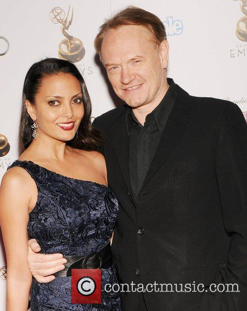 Jared Harris and Guest 64th Primetime Emmy Awards...