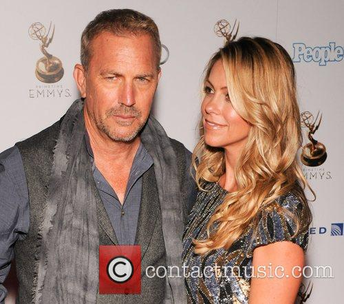 Kevin Costner, Christine Baumgartner and Emmy Awards 5