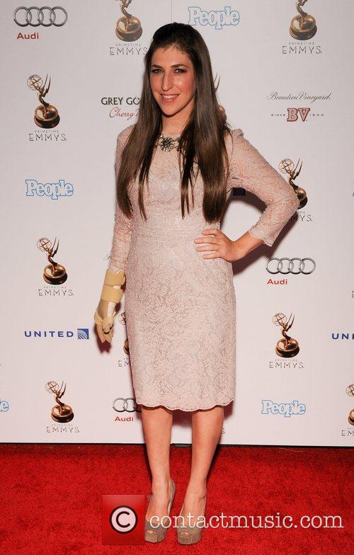 Mayim Bialik and Emmy Awards 1