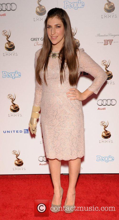 Mayim Bialik and Emmy Awards 4