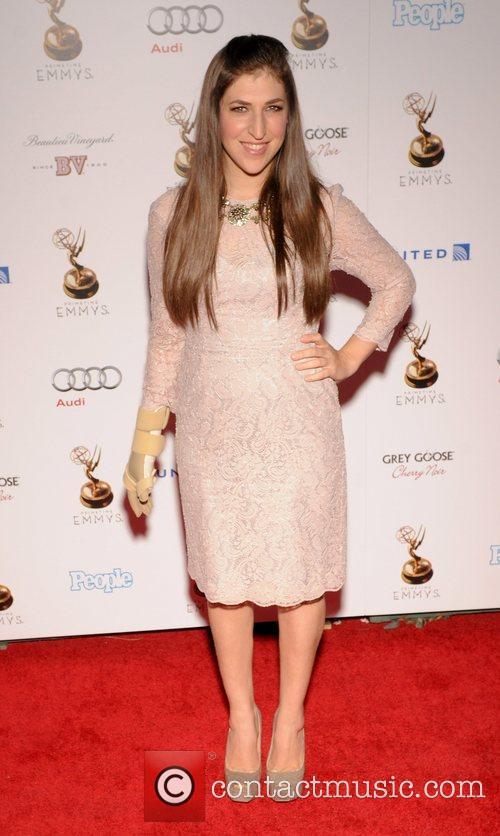 Mayim Bialik and Emmy Awards 2