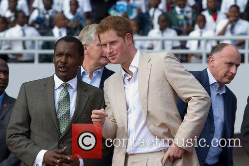 Prince Harry, The National