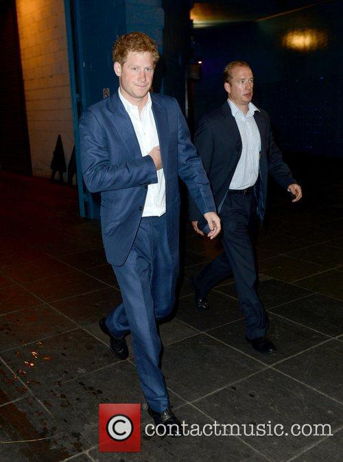 prince harry arrives at the imax premiere 3995893