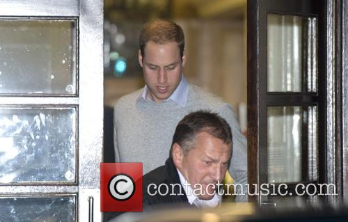 Prince William, The Duke, Cambridge, King Edward, Hospital, Central London and The Duchess 1