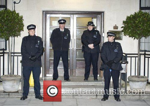 Police, King Edward, Hospital, Central London, The Duchess and Cambridge 1
