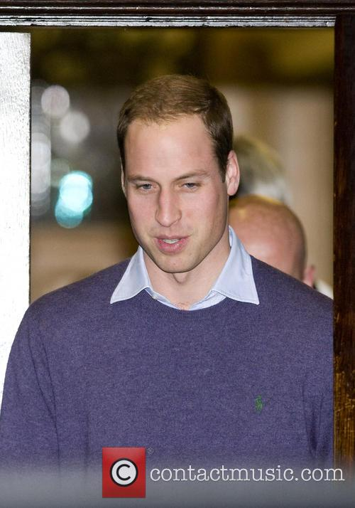 Prince William, The Duke, Cambridge, King Edward, Hospital, Central London and The Duchess 2