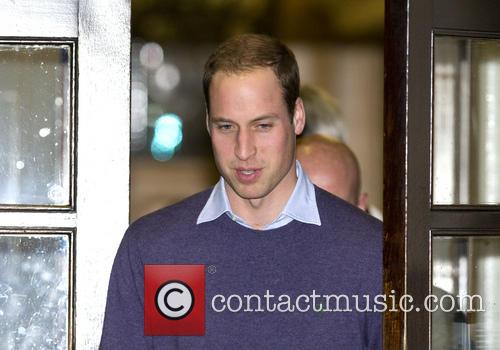 Prince William, The Duke, Cambridge, King Edward, Hospital, Central London and The Duchess 4