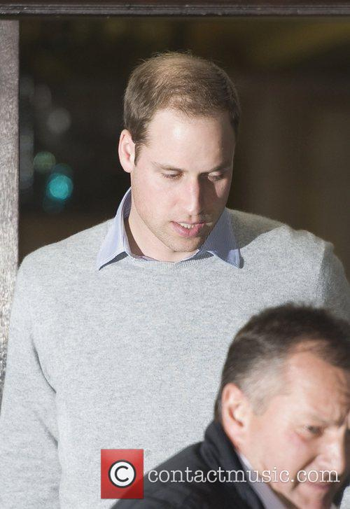 Prince William, The Duke, Cambridge, King Edward, Hospital, Central London and The Duchess 7