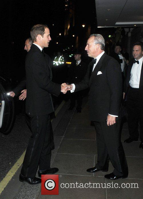Prince William, Duke of Cambridge arrives at the...