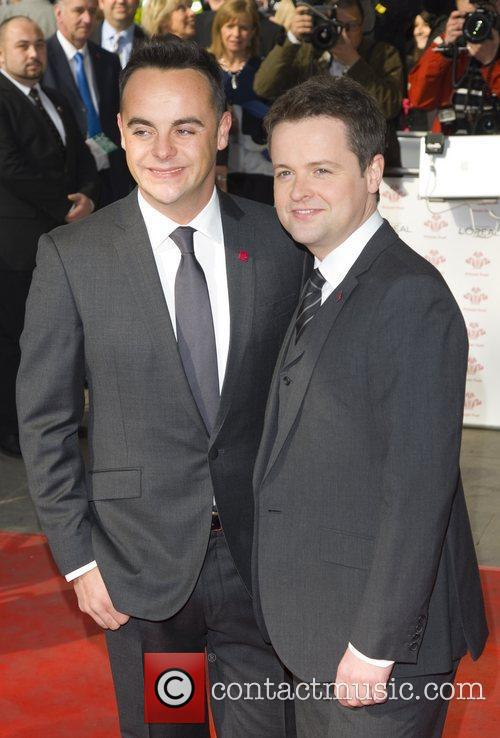 Ant and Dec at The Princes Trust Awards 2012