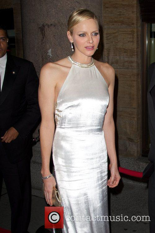 Princess Charlene of Monaco Princess Grace Awards Gala...