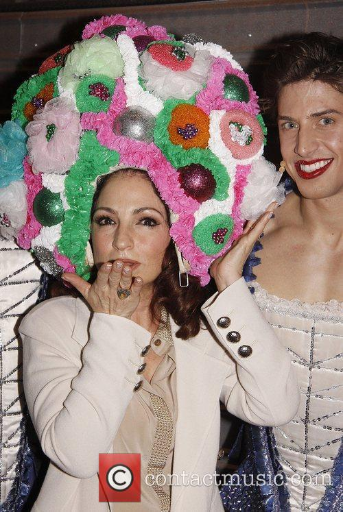 Backstage at the Broadway musical 'Priscilla Queen of...