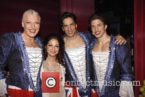 Gloria Estefan, Nick Adams and Palace Theatre 4
