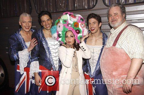 Gloria Estefan, Adam Lefevre, Nick Adams and Palace Theatre 2