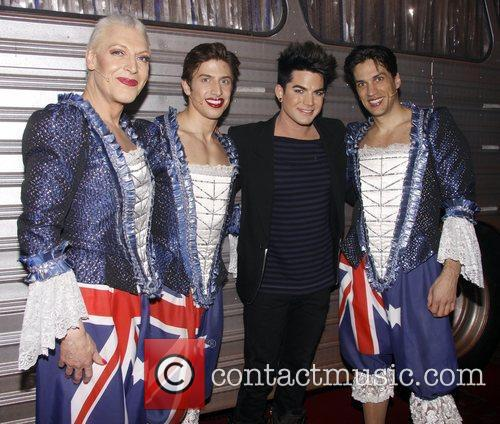 Tony Sheldon, Nick Adams, Adam Lambert and Will...