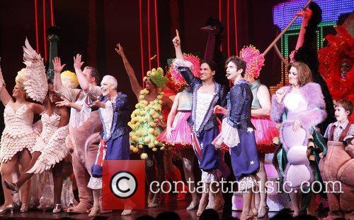 Curtain Call for the Broadway musical 'Priscilla Queen...
