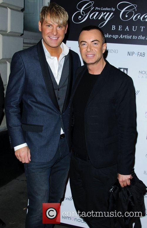 Gary Cockerill and Julian Mcdonald 2