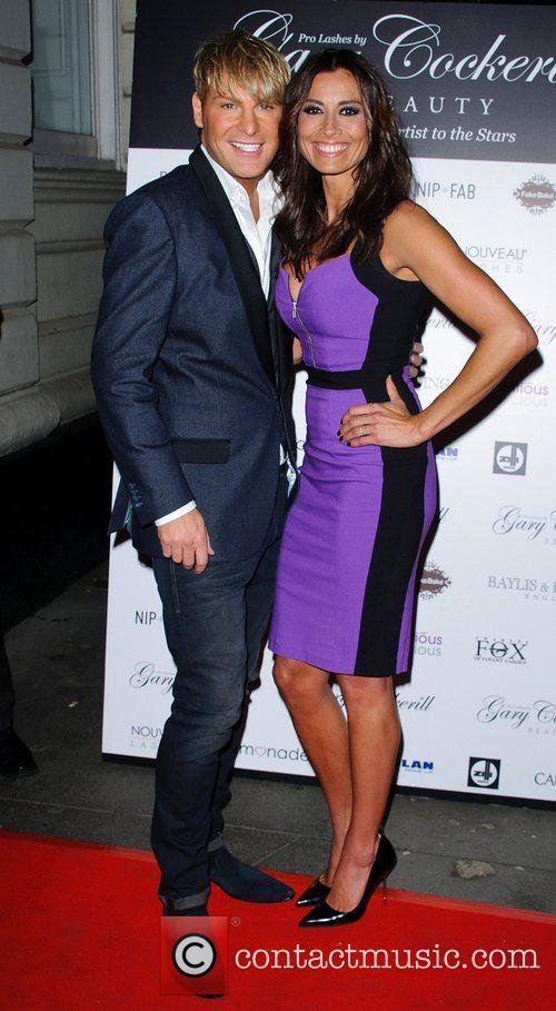 Gary Cockerill and Melanie Sykes 8