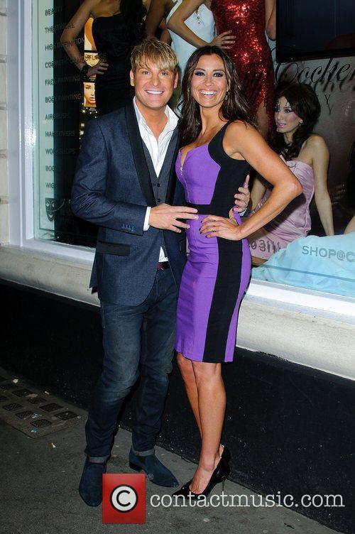 Gary Cockerill and Melanie Sykes 5