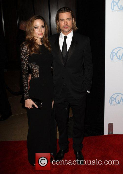 Angelina Jolie and Brad Pitt 9