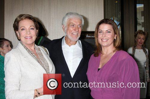 Julie Andrews, Dick Van Dyke and Beverly Hilton Hotel